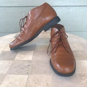 Easy Spirit Oxford Leather Lace-up Brown Shoes